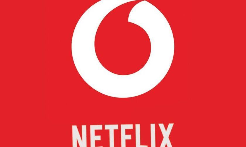 Vodafone TV - Netflix: Νέα μεγάλη συνεργασία!