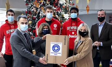 Ολυμπιακός και BWIN παρέδωσαν τον  αναπνευστήρα στο νοσοκομείο «Αττικόν» (vid)