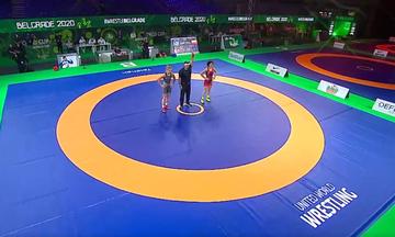Παγκόσμιο Κύπελλο Πάλης: Πρώτη στον κόσμο η Πρεβολαράκη