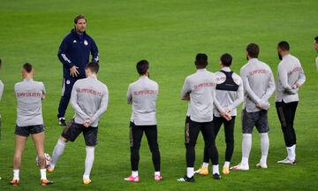 Η αποστολή του Ολυμπιακού για το ματς με την ΑΕΚ