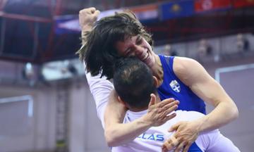 Πρεβολαράκη και Παριγέι μιλούν για το χρυσό μετάλλιο στο Παγκόσμιο Κύπελλο