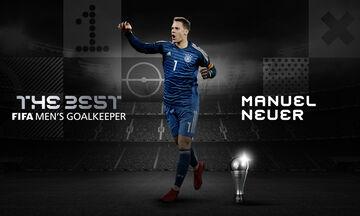 The Best: Κορυφαίος τερματοφύλακας της χρονιάς από την FIFA ο Νόιερ (pic)