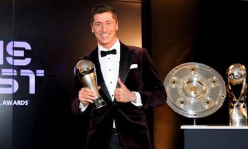 The Best: Κορυφαίος ποδοσφαιριστής ο Λεβαντόφσκι που νίκησε Μέσι, Ρονάλντο (pic)
