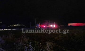 Λαμία: Εκρήξεις σε αποθήκη υγραερίου - Τουλάχιστον δυο τραυματίες, εκκενώνονται σπίτια (vid)