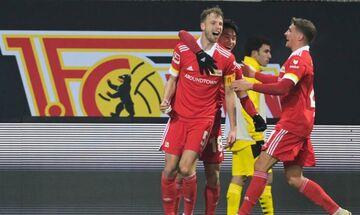 Bundesliga: Μεγάλη νίκη η Ουνιόν επί της Ντόρτμουντ, ιστορικό γκολ ο Μουκόκο (Highlights)