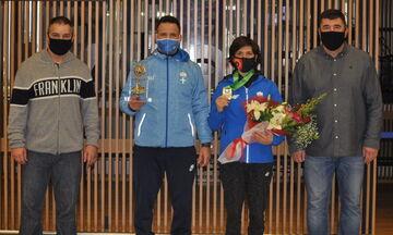 Πάλη: Πάτησε Αθήνα η παγκόσμια πρωταθλήτρια Μαρία Πρεβολαράκη
