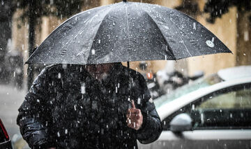Καιρός: Νεφώσεις, βροχές και μεμονωμένες καταιγίδες