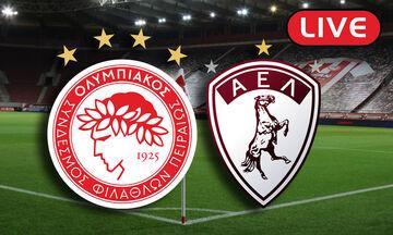 LIVE: Ολυμπιακός - ΑΕΛ (15:00)