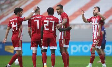 Ολυμπιακός-ΑΕΛ 5-1: Όλα τα γκολ της αναμέτρησης (vids)