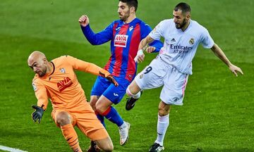 La Liga: «Διπλό» κορυφής η Ρεάλ, η Γρανάδα 2-0 την Μπέτις, «έπιασε» την Μπαρτσελόνα (highlights)