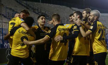 ΑΕΚ - Βόλος: Το 1-0 από τον Τάνκοβιτς με απευθείας κόρνερ! (vid)