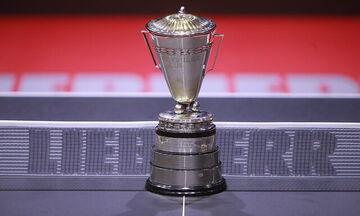 Πινγκ Πονγκ: Ακυρώθηκε το παγκόσμιο πρωτάθλημα ομαδικού