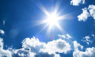 Καιρός: Αρκετή ηλιοφάνεια και άνοδος της θερμοκρασίας