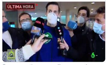 Μπαρτσελόνα: Ο Ερτέλ επέστρεψε στη Βαρκελώνη - Έπεσαν πάνω του οι δημοσιογράφοι (vid)