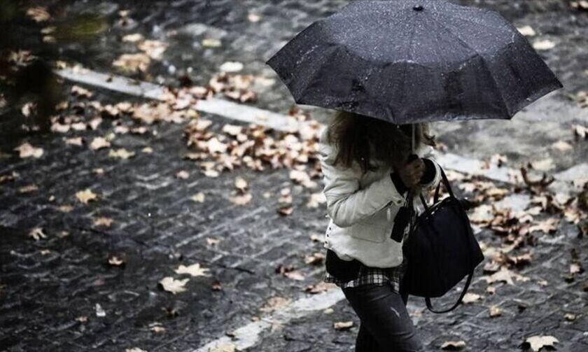 Καιρός: Βροχές και καταιγίδες τη Δευτέρα (28/12)