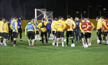 Χιμένεθ στους παίκτες της ΑΕΚ: «Για εμένα είστε οι καλύτεροι στον κόσμο»