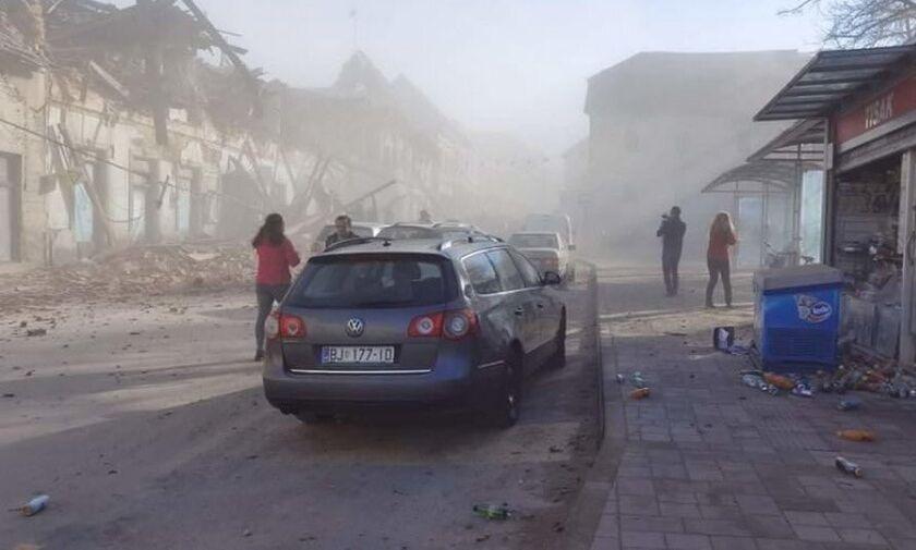 Ισχυρός σεισμός 6,3 Ρίχτερ στην Κροατία