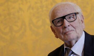 Πέθανε ο σπουδαίος σχεδιαστής μόδας Πιέρ Καρντέν