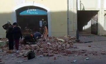 Κροατία: Νεκρό κοριτσάκι από τον σεισμό (vid)