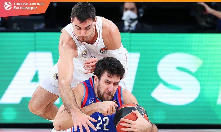 Το πανόραμα της EuroLeague: Έγινε του «διπλού» - Αποτελέσματα, βαθμολογία, highlights