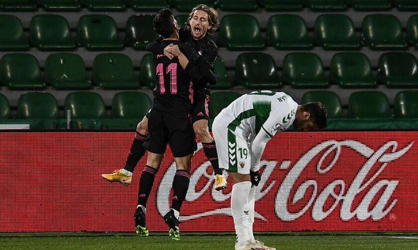 Έλτσε - Ρεάλ Μαδρίτης 0-1: Με κεφαλιά του Μόντριτς άνοιξαν το σκορ οι «μερένγκες»!