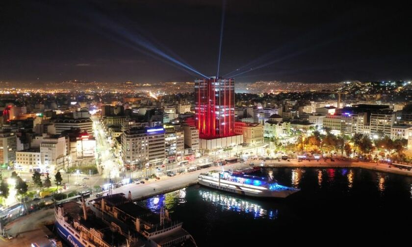 LIVE Streaming - Πειραιάς: Η αλλαγή χρόνου - Ο Πύργος, το BLUE STAR CHIOS, ο Λέων του Πειραιώς