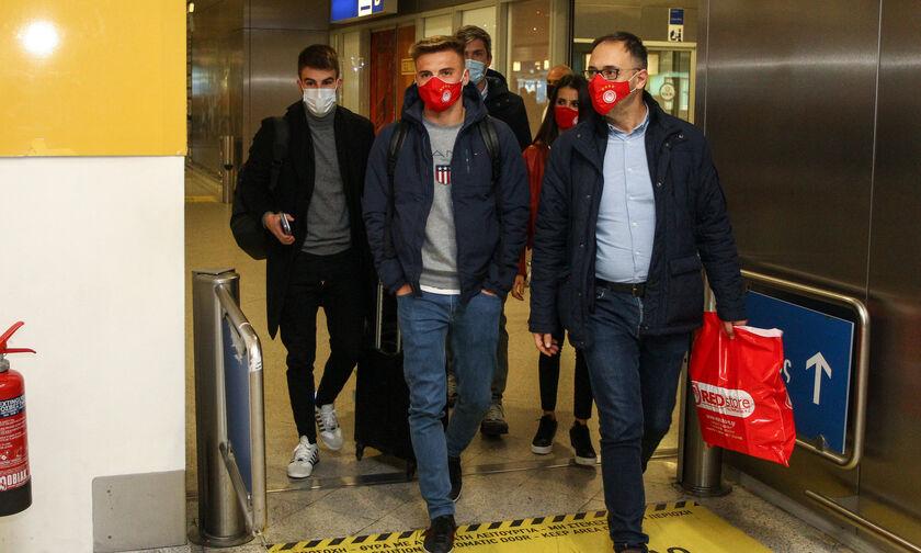 Ολυμπιακός: Έφτασε στην Αθήνα ο Ρέμπτσιουκ (vid)