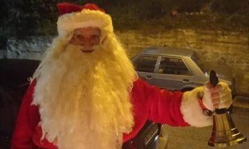 Λαμία: Πέθανε ο «Άγιος Βασίλης» της πόλης εν ώρα καθήκοντος...