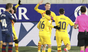 La Liga: Με το δεξί (του Ντε Γιονγκ κι ασίστ του... 500αρη Μέσι) η Μπαρτσελόνα (Ηighlights)!