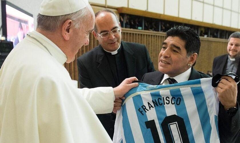 Πάπας Φραγκίσκος: «Ο Μαραντόνα ήταν ποιητής-ποδοσφαιριστής, αλλά εύθραυστος άνθρωπος»