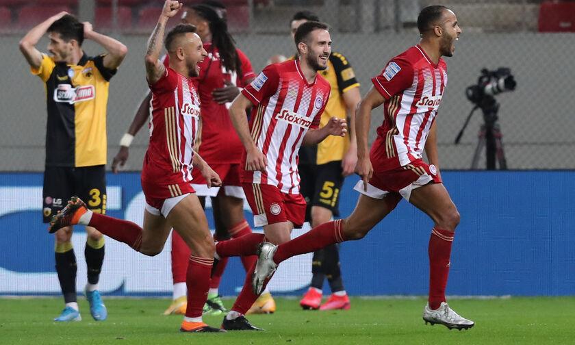 Ολυμπιακός - ΑΕΚ: Γκολ ξανά από τον Ελ Αραμπί και 2-0! (vid)
