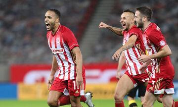 Ολυμπιακός-ΑΕΚ 3-0: Ξεφεύγει με τον Ελ Αραμπί