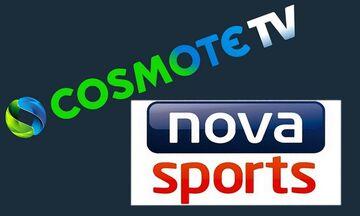 Cosmote TV – Nova: Νέος γύρος αναμέτρησης. Σε ποιο πρωτάθλημα στοχεύουν