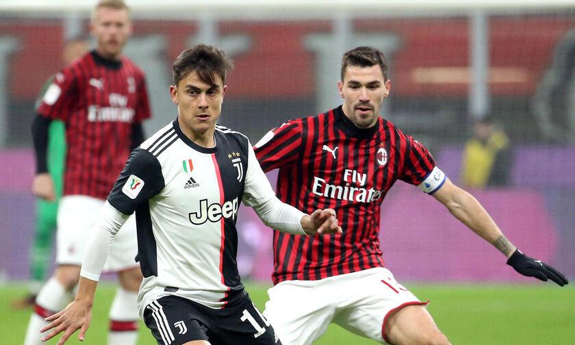 Serie A: Σέντρα με ντέρμπι Μίλαν - Γιουβέντους