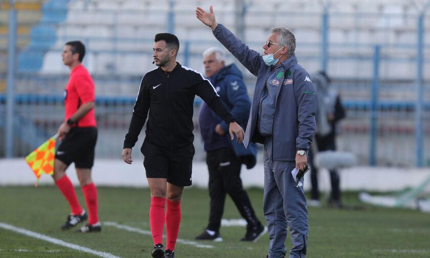 Απόλλων Σμύρνης – Παναθηναϊκός 0-1: Μπόλονι: «Νίκη τραβηγμένη από τα μαλλιά»