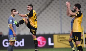 ΑΕΚ - Παναιτωλικός: Το γκολ του Γαλανόπουλου για το 1-0 (vid)
