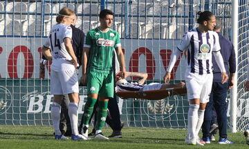 Απόλλων Σμύρνης - Παναθηναϊκός 0-1: Κάταγμα κόγχης ο Ιωαννίδης (vid)