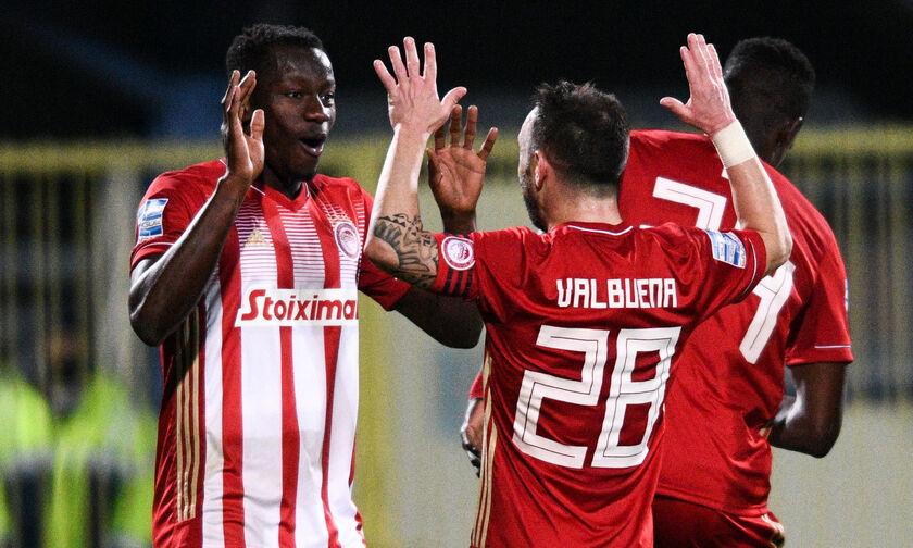 Αστέρας Τρίπολης - Ολυμπιακός 0-4: Τα τέσσερα γκολ των «ερυθρόλευκων» (vids)