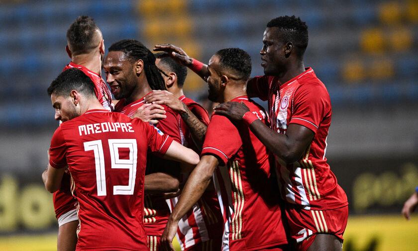 Αστέρας Τρίπολης-Ολυμπιακός 0-4: «Τρένο» για το 46ο πρωτάθλημα