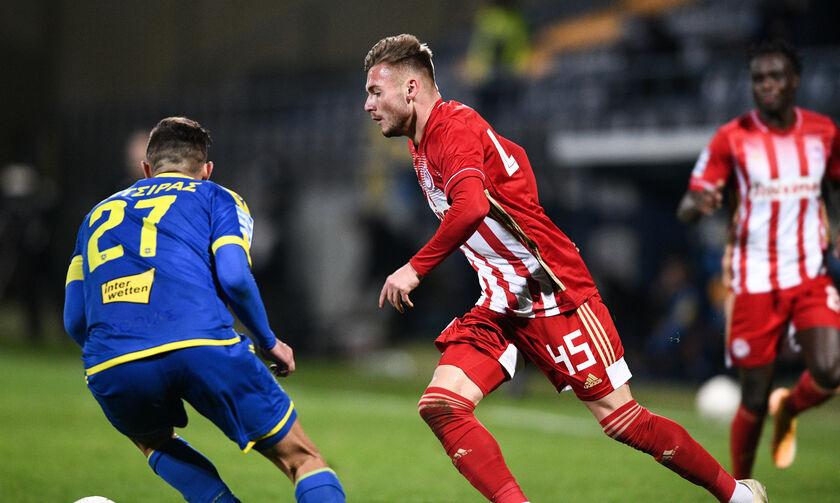 Αστέρας Τρίπολης - Ολυμπιακός 0-4: Έκανε ντεμπούτο ο Ρέαμπτσιουκ (vid)