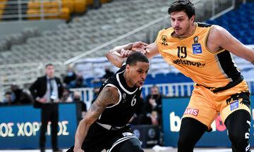 Basket League: Άλλαξε ώρα ο αγώνας AEK - ΠΑΟΚ που επαναλαμβάνεται