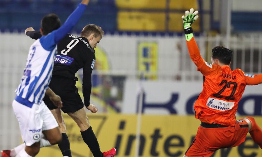 Ατρόμητος - ΠΑΟΚ: Το γκολ του Σφιντέρσκι για το 0-1 (vid)