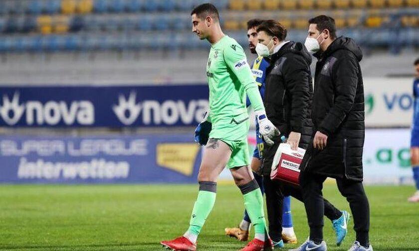 Αστέρας Τρίπολης: Χάνει για δύο βδομάδες τον γκολκίπερ Παπαδόπουλο λόγω τραυματισμού