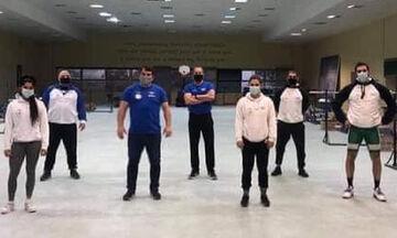 Άρση βαρών: Στην προπόνηση της προολυμπιακής ομάδας ο Δήμας