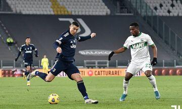 Serie A: H Γιουβέντους λύγισε 3-1 τη Σασουόλο που έπαιζε με δέκα (Highlights)