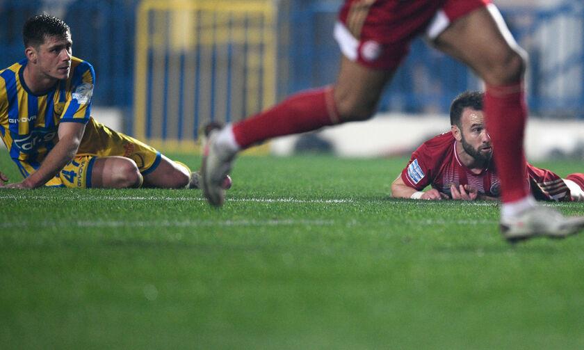 Παναιτωλικός - Ολυμπιακός: Γκολ Ελ Αραμπί με απίστευτη ασίστ Βαλμπουενά για το 1-2 (vid)