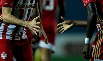 Ολυμπιακός: Σκοράρει, νικά στο Αγρίνιο, παίζει «πέτρα - ψαλίδι - μολύβι - χαρτί» (pics)