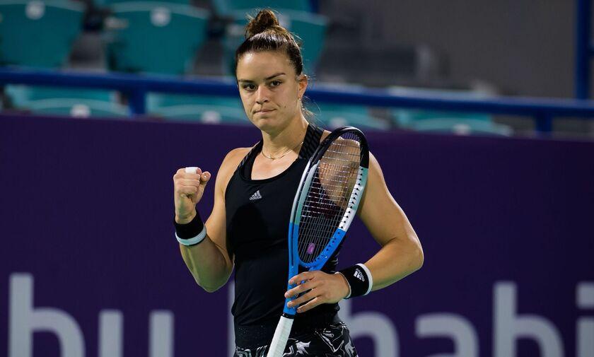 Abu Dhabi Open: Με Κένιν στα προημιτελικά η Σάκκαρη