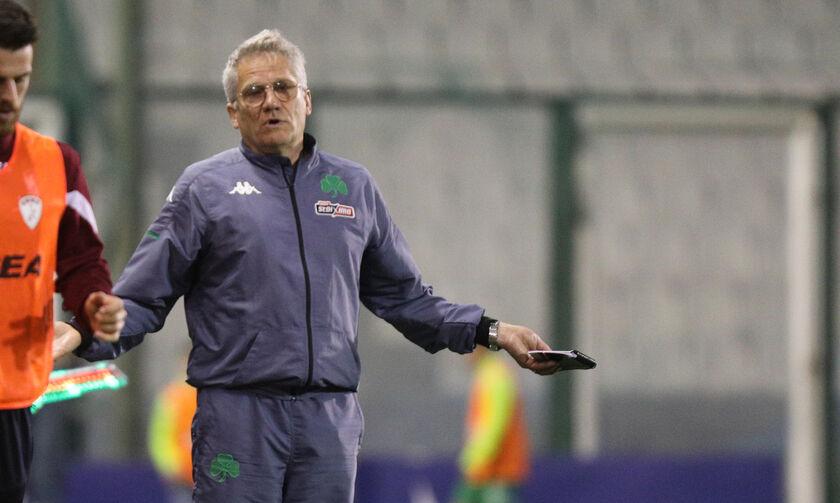 Παναθηναϊκός-ΑΕΛ 2-0: Μπόλονι: «Να παίζουμε με μεγαλύτερη αυτοπεποίθηση»