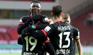 Κύπελλο Γερμανίας: Η Λεβερκούζεν στους «16» με 4-1 επί της Αϊντραχτ Φρανκφούρτης (highlights)